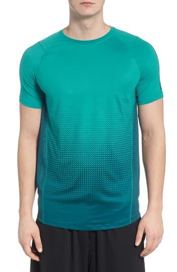 Men's Under Armour Mk1 Dash Crewneck T-Shirt, Size Small - Green