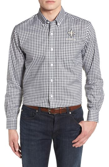 Men's Cutter & Buck League New Orleans Saints Regular Fit Shirt