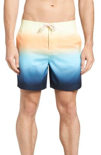 Original Penguin Gradient Board Shorts, Blue