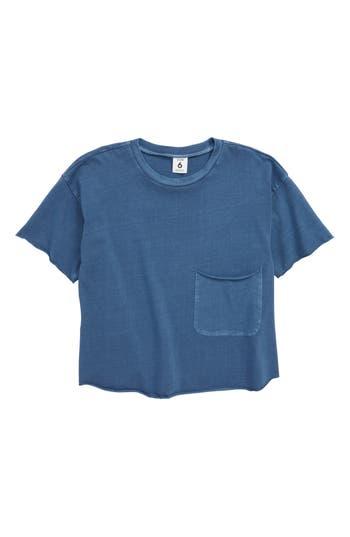 Boys Stem Raw Edge Pocket TShirt