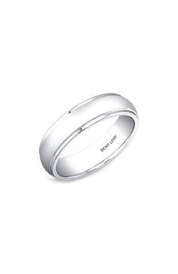 Bony Levy Round White Gold Ring