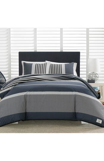 Nautica Rendon Stripe Comforter  Sham Set