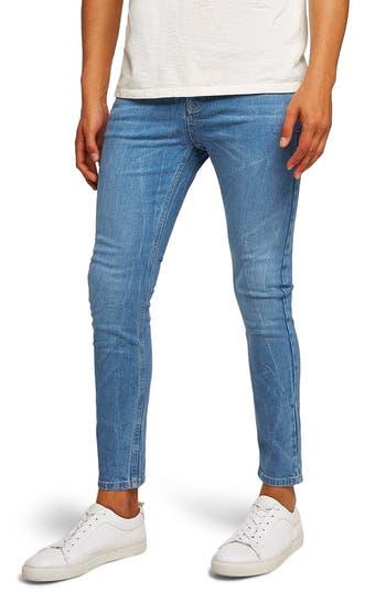 Topman Stretch Slim Fit Jeans