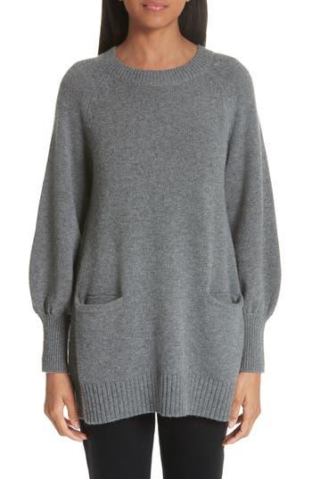 Co Wool & Cashmere Tunic Sweater