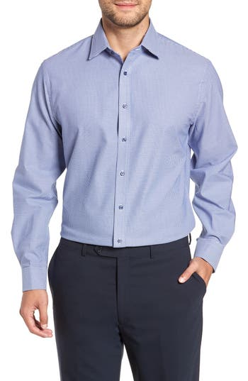 Nordstrom Men's Shop Tech-Smart Traditional Fit Stretch Solid Dress Shirt