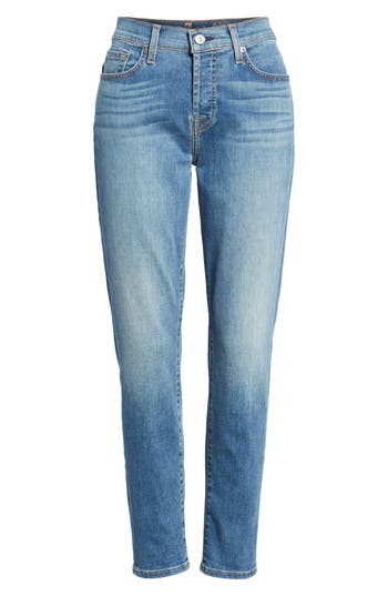 d6039767923 Plus Size Women s Universal Standard Meuse Resin Tapered Ankle Jeans ...