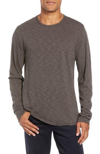 Men's Rag & Bone Owen Slim Fit Long Sleeve T-Shirt, Size Small - Grey