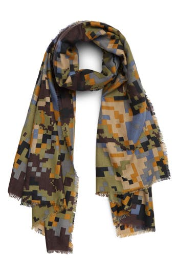 BP. Pixelated Camo Scarf