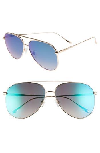 DIFF Nala 60mm Polarized Aviator Sunglasses