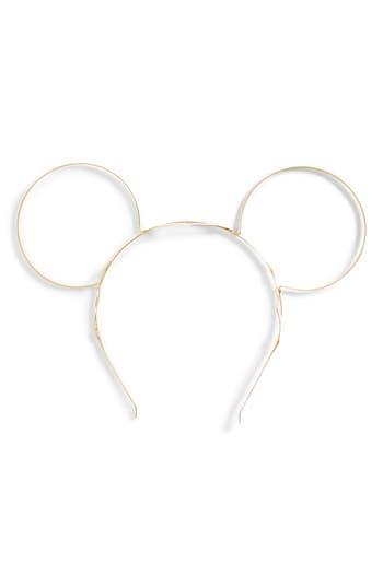Gigi Burris Millinery x Disney Mickey Gold Ears Headband