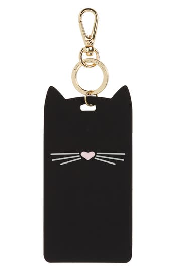 kate spade new york cat clip ID case