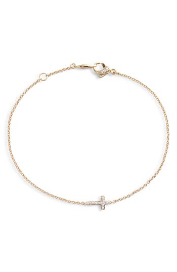 Nadri Cross Chain Bracelet