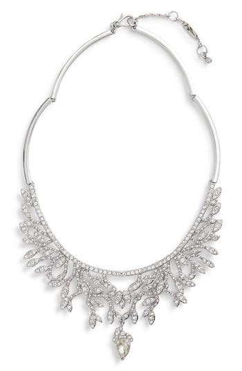 Jenny Packham Crystal Frontal Necklace