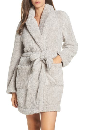 Papinelle Plush Short Robe