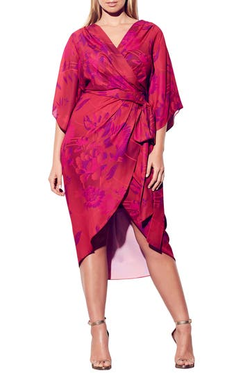 City Chic Mystic Fever Midi Dress