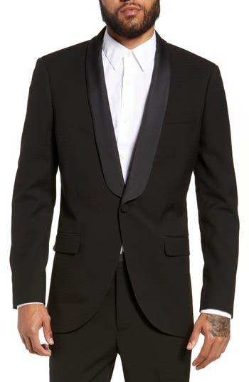 Topman Kingley Slim Fit Tuxedo Jacket