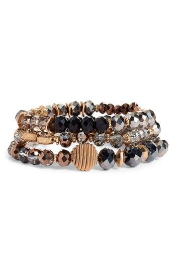 Canvas Jewelry Multistrand Beaded Bracelet