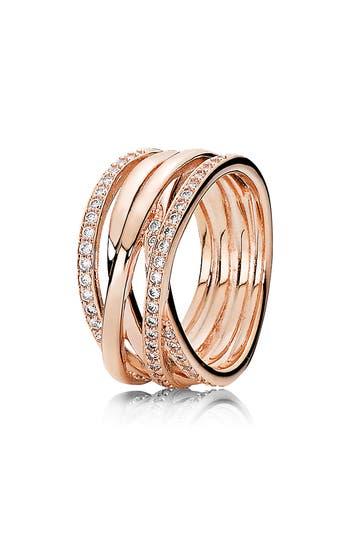 PANDORA Entwined Band Ring