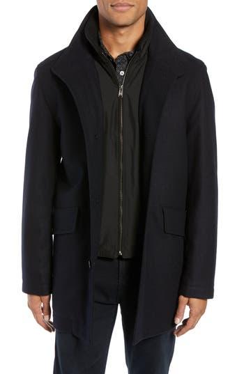 BOSS Coxtan Wool Regular Fit Car Coat