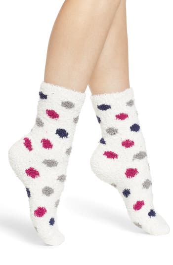 Nordstrom Butter Pattern Crew Socks
