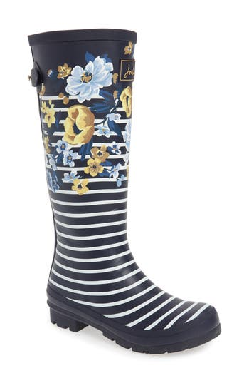 Joules 'Welly'PrintRain Boot