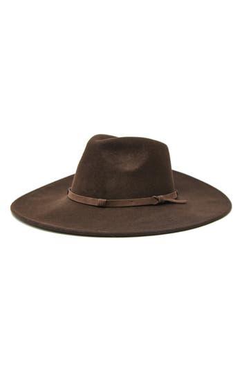 NOAKE Erin Wide Brim Wool Rancher Hat