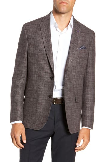 Ted Baker London Konan 2B Trim Fit Textured Sport Coat
