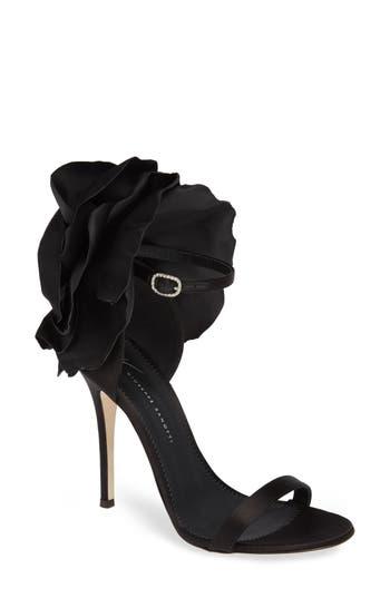 Giuseppe Zanotti Blooming Flower Ankle Strap Sandal