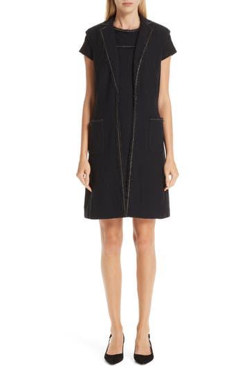 St. John Collection Bouclé Knit Vest