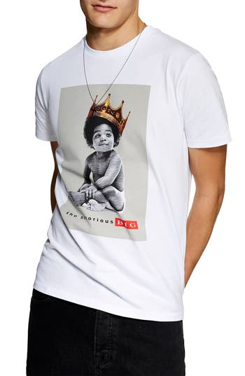 Topman Biggie Smalls Graphic T-Shirt
