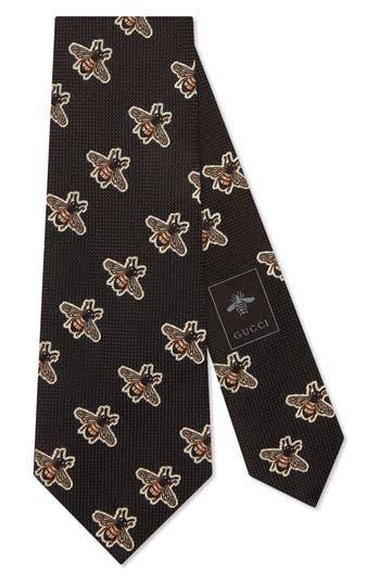 Gucci Multi Bee Silk Tie