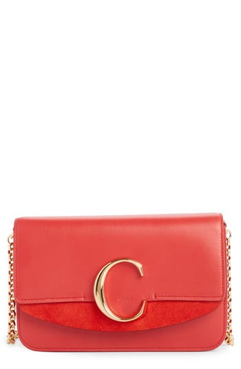 Chloé Mini Leather Shoulder Bag