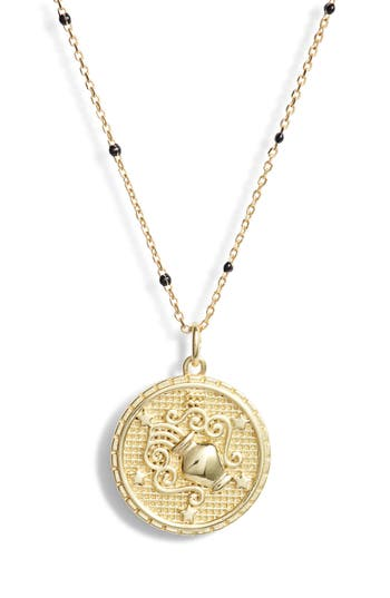 Argento Vivo Zodiac Pendant Necklace