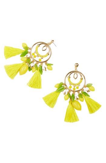 Lilly Pulitzer® Lemon Grove Statement Earrings