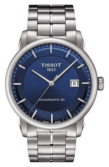 Tissot Luxury Powermatic Bracelet Watch, 41mm
