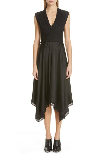 Alexander Wang Lace Trim Layered Slipdress
