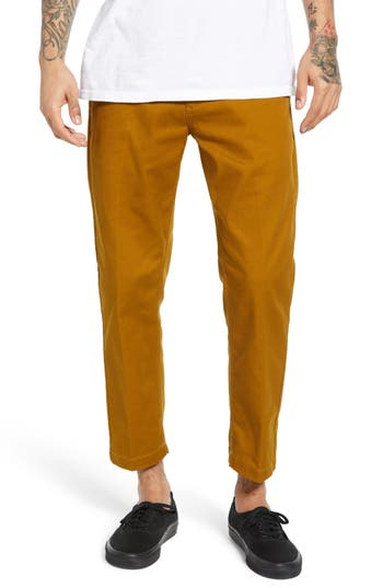 Obey Straggler Relaxed Fit Crop Pants