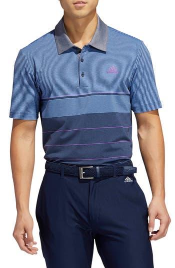 adidas Golf Ultimate Stripe Polo Shirt