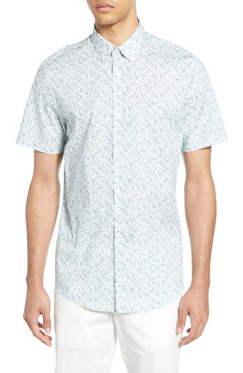 Calibrate Cloud Print Sport Shirt