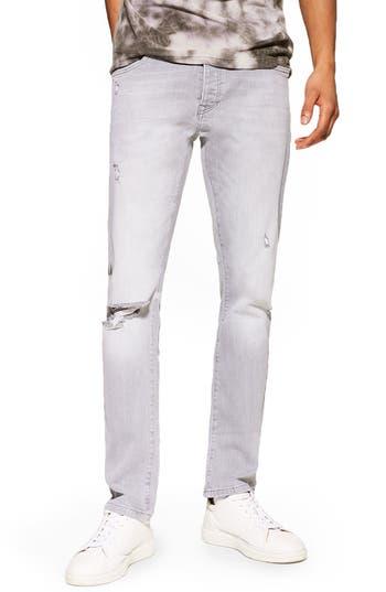 Topman Ripped Slim Jeans