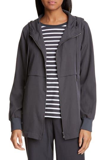Eileen Fisher Hooded Jacket (Regular & Petite)