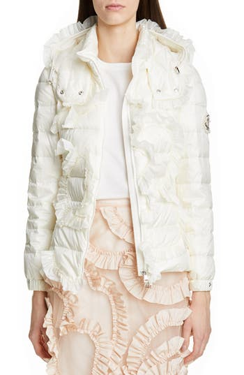 Moncler Genius by Moncler x 4 Simone Rocha Lily Ruffle Quilted Down Jacket
