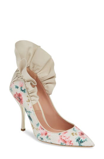 DAHLIA SELVA Frills for All Pointy Toe Pump