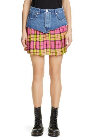 Vetements Schoolgirl Skirt