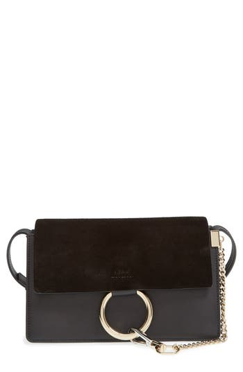 Chloe Small Faye Leather Shoulder Bag - at NORDSTROM.com