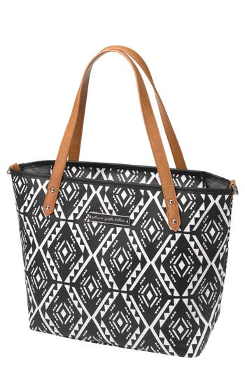 Infant Petunia Pickle Bottom Downtown Mini Coated Canvas Diaper Tote