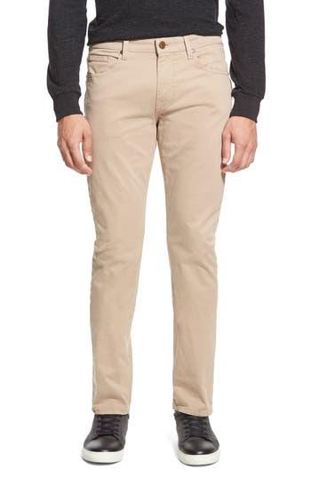 PAIGE 'Federal' Slim Straight Leg Twill Pants
