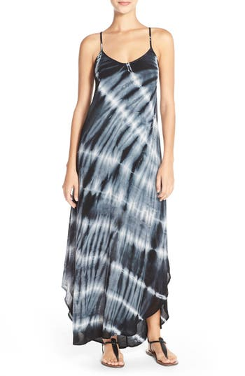 Women's Fraiche By J Tie Dye A-Line Maxi Dress