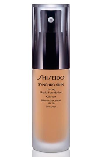 Shiseido 'Synchro Skin' Lasting Liquid Foundation Broad Spectrum Spf 20 - Neutral 3