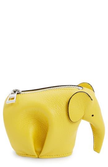 Women's Loewe Elephant Coin Purse -